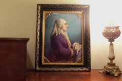 French Portrait on Porcelain - Artist Signed - Appointment Only