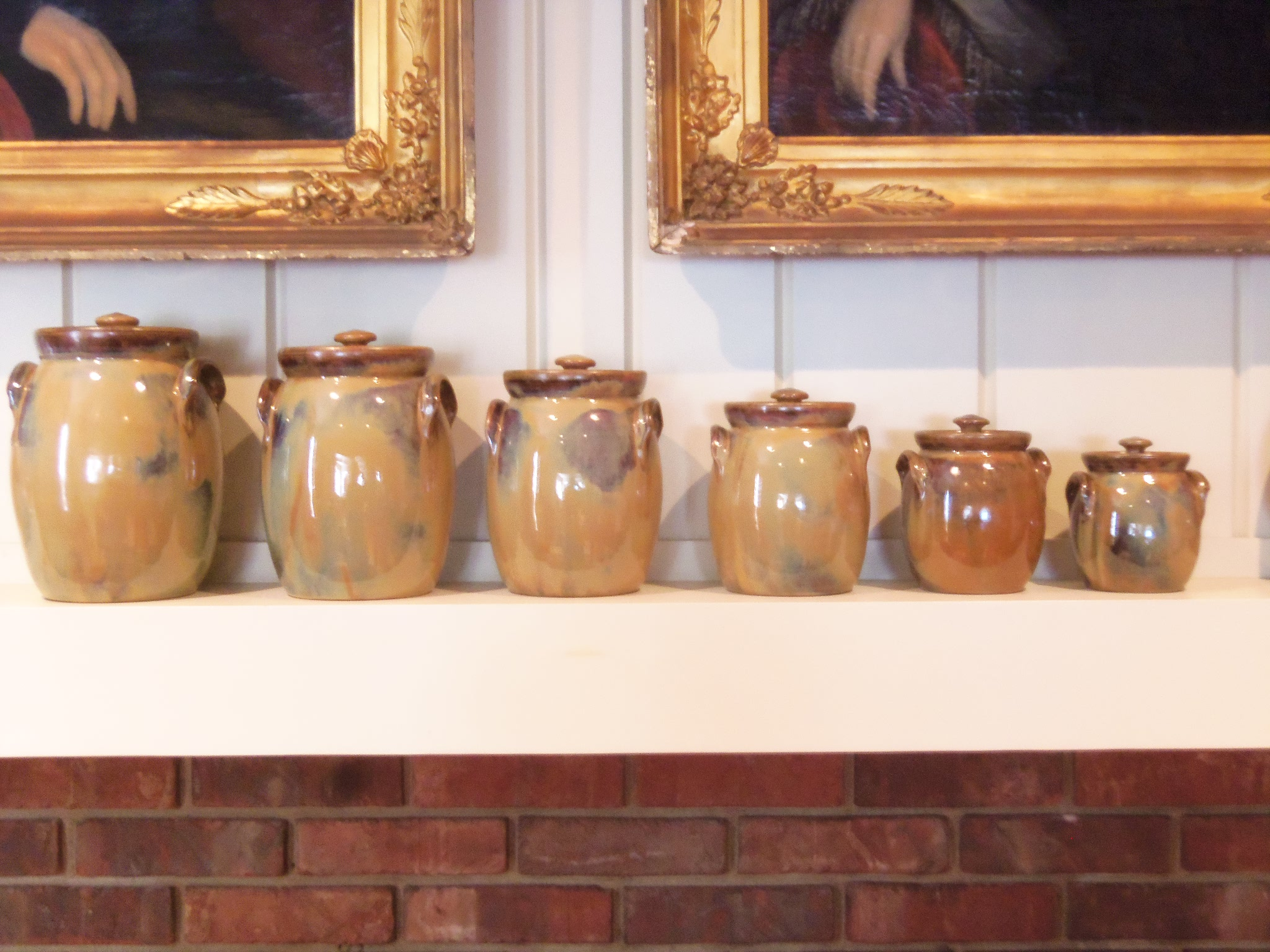 Large Collection of W.J. Gordy Pottery